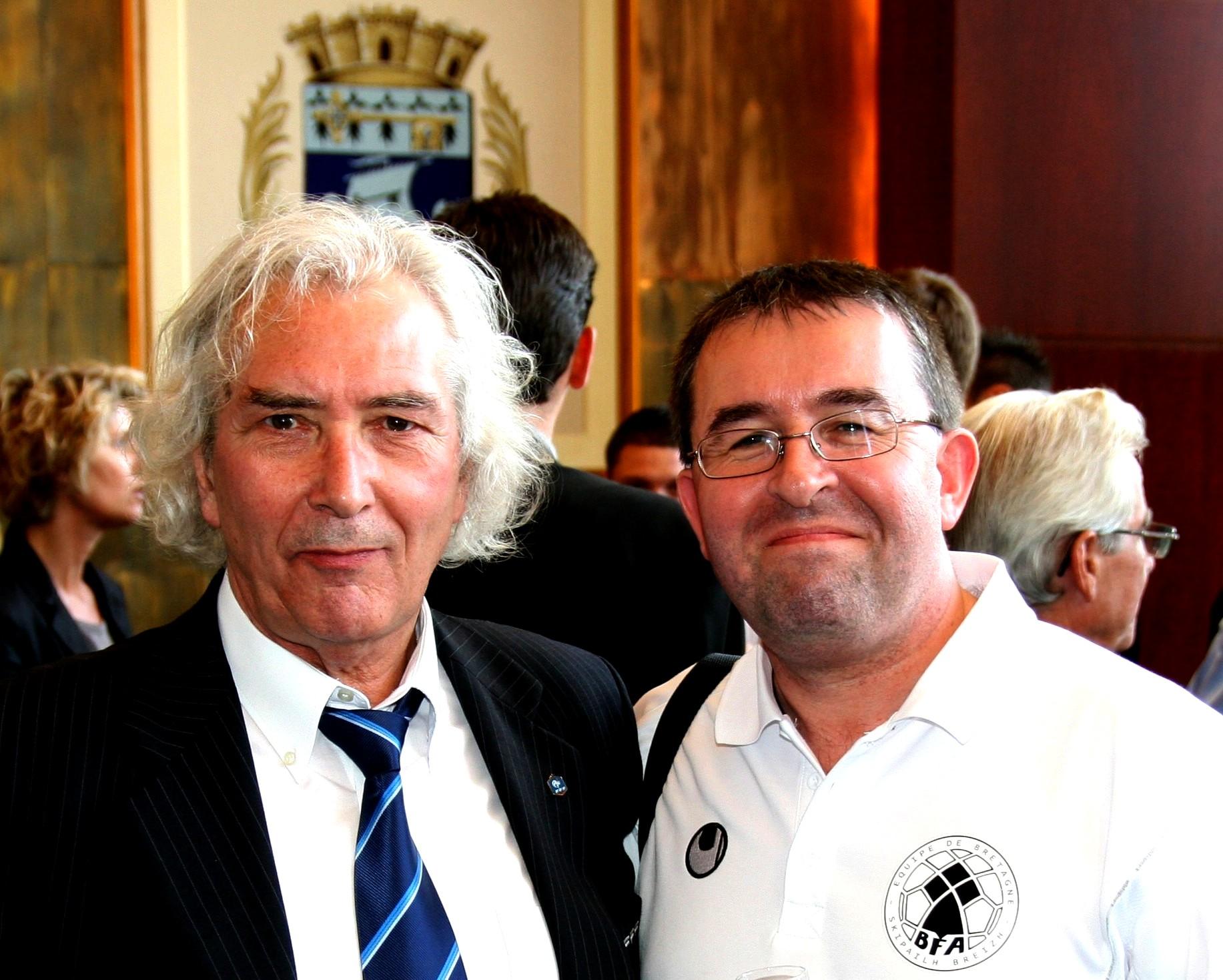 Michel Tronson fanch gaume bfa bretagne football