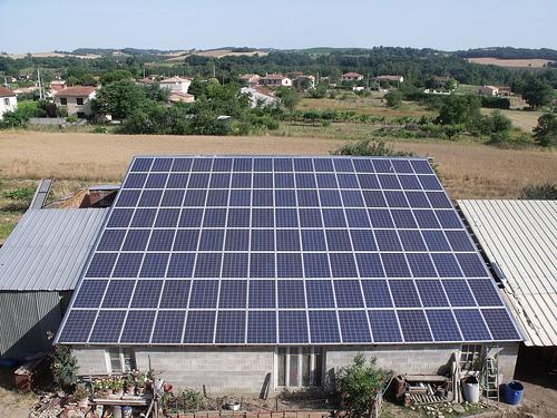 Chauffage solaire en Bretagne.