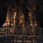 traditions mariage breton, Bombarde et orgue