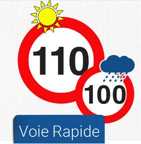 Autoroutes bretonnes limitées à 110k/h car gratuites ?
