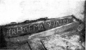 Inscription de Lomarec en langue bretonne.
