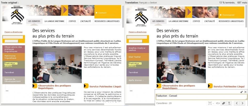 Google translator toolkit breton francais pour google trad