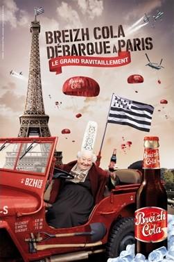 Breizh Colas à Paris.