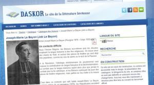 Daskor, littérature bretonne