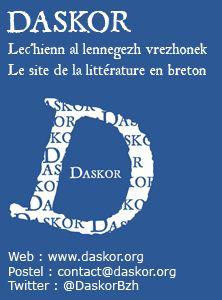 Logo Daskor, la littérature bretonne