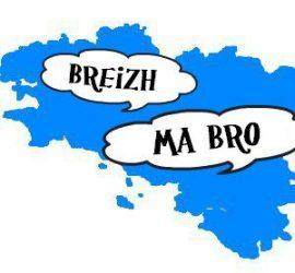 """Comment dire """"La Bretagne est mon pays"""" en breton."""