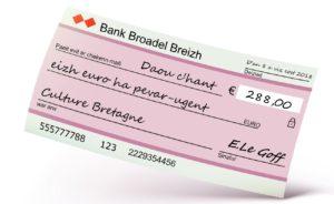 Les banques sont elles obligées d'éditer des chéquiers en Breton si le client le demande ?