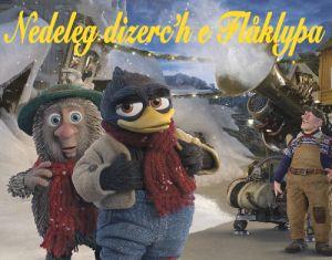 """Le film d'animation en breton """"De la neige pour Noël""""."""