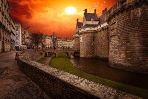 Nantes, Château des Ducs de Bretagne.