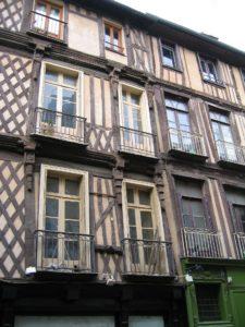 Rennes, ville historique.